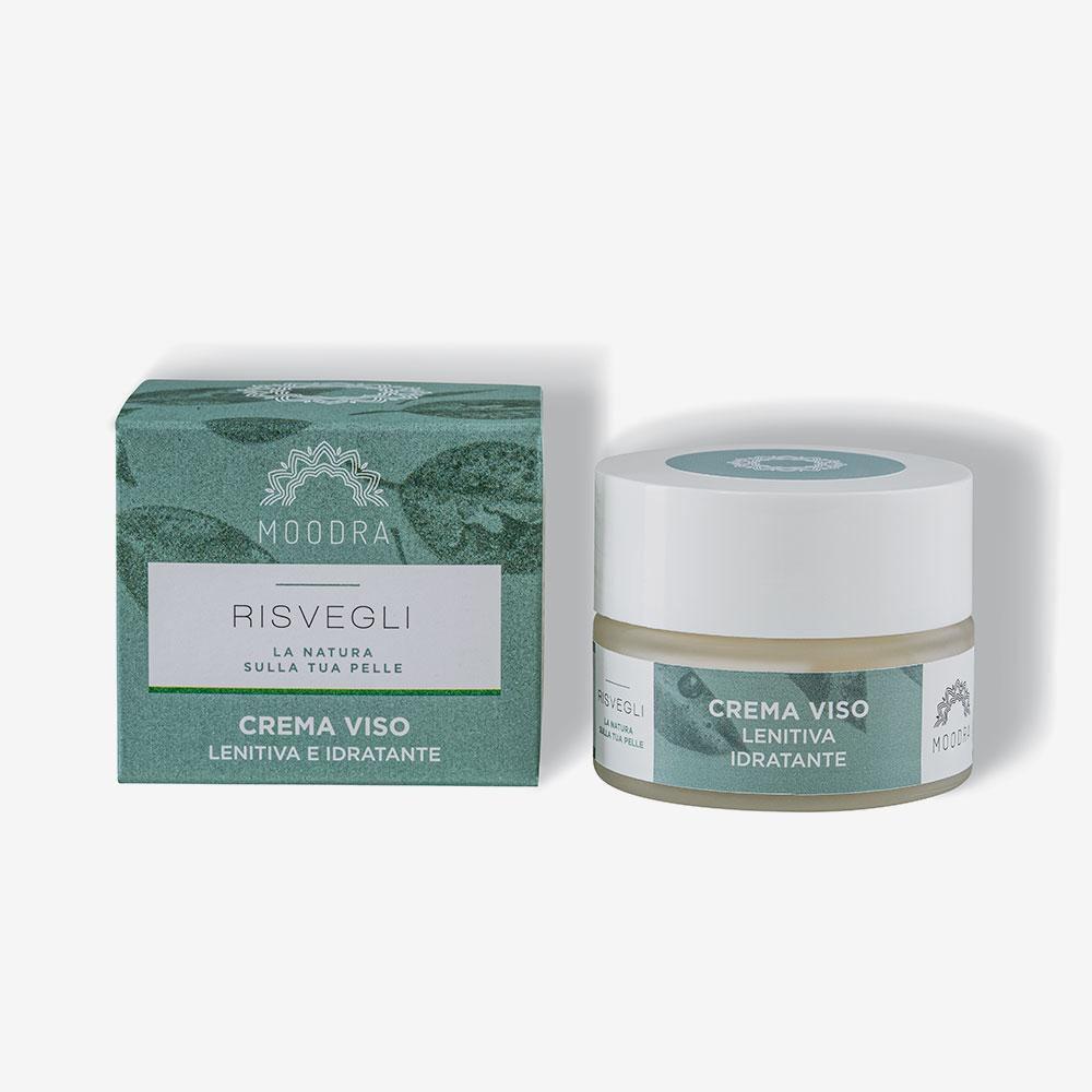 Crema viso – lenitiva – idratante